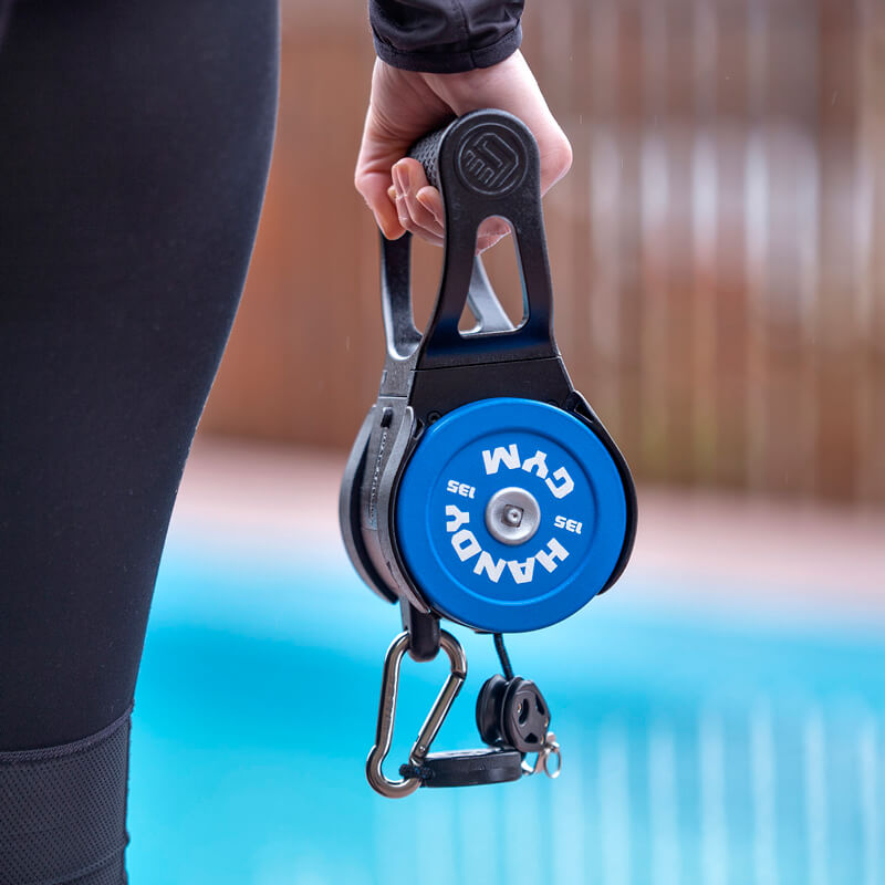 handy gym blue hand - Pulley