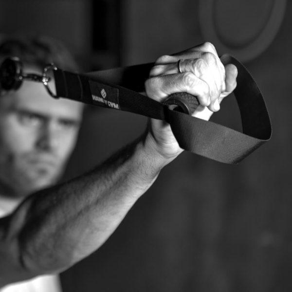 handy gym handle foot 1 600x600 - Handle with Foot Cradle