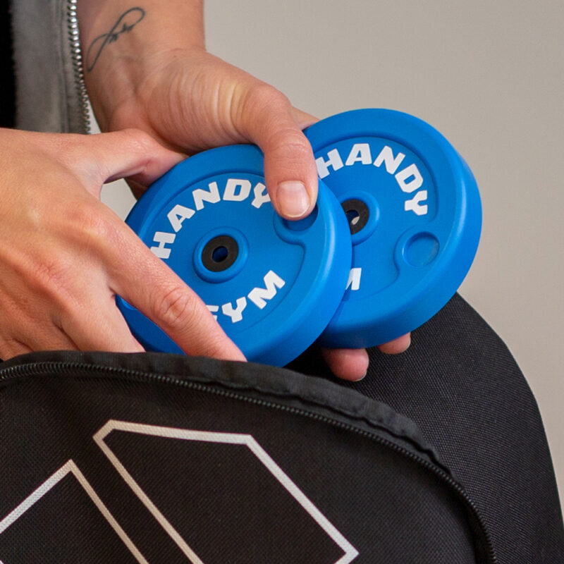 handy gym blue disc 1 800x800 - Blue Inertial Discs