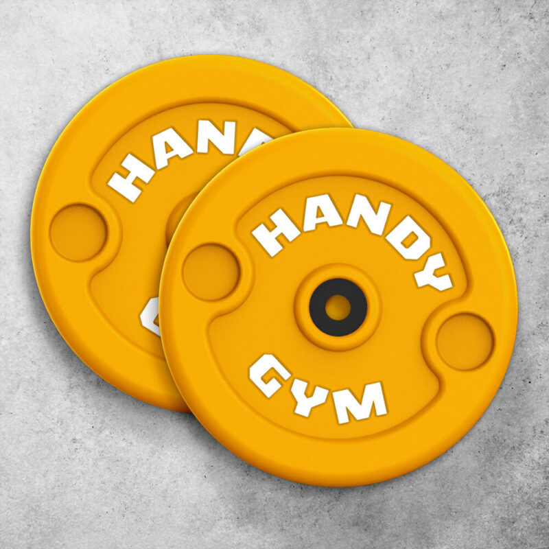 handy gym yellow disc 800x800 - Yellow Inertial Discs