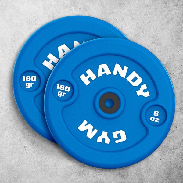 handy gym blue dics 600x600 - Discos Inerciales Azules