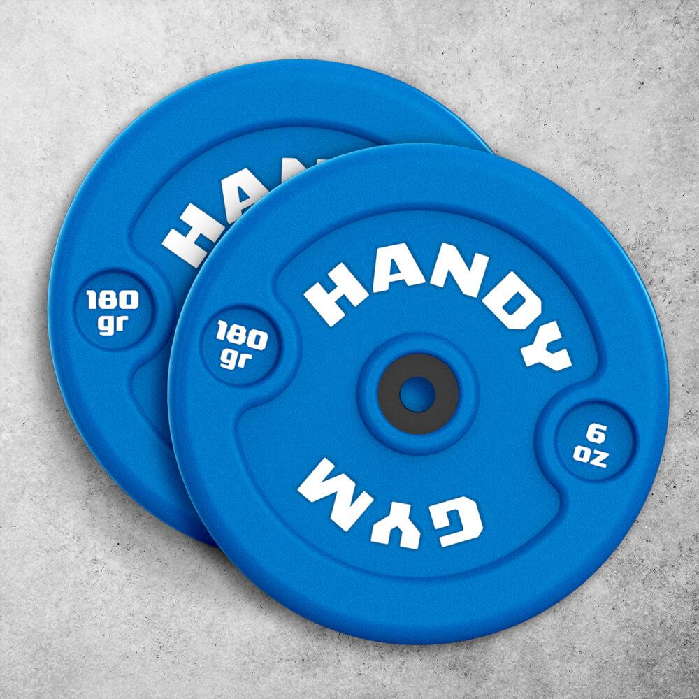 handy gym blue dics - Discos Inerciales Azules