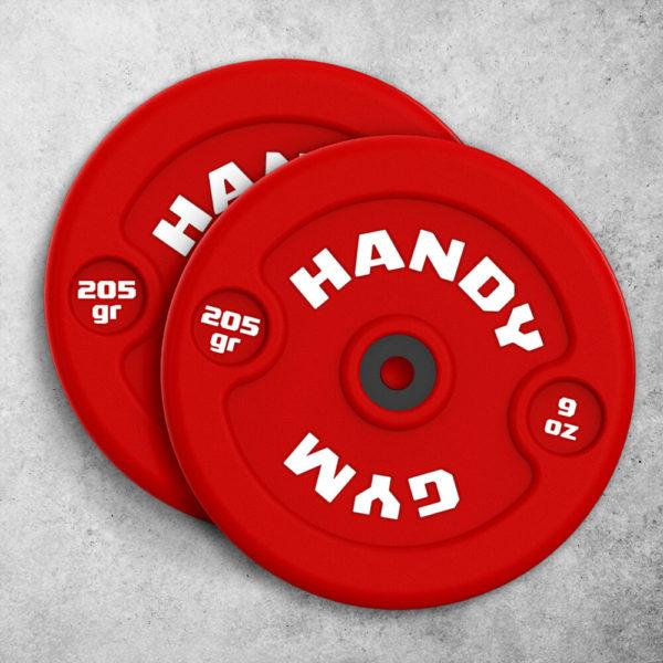 handy gym red dics 600x600 - Discos Inerciales Rojos