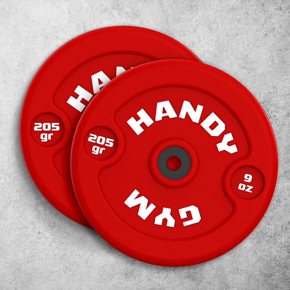 handy gym red dics - Red Inertial Discs