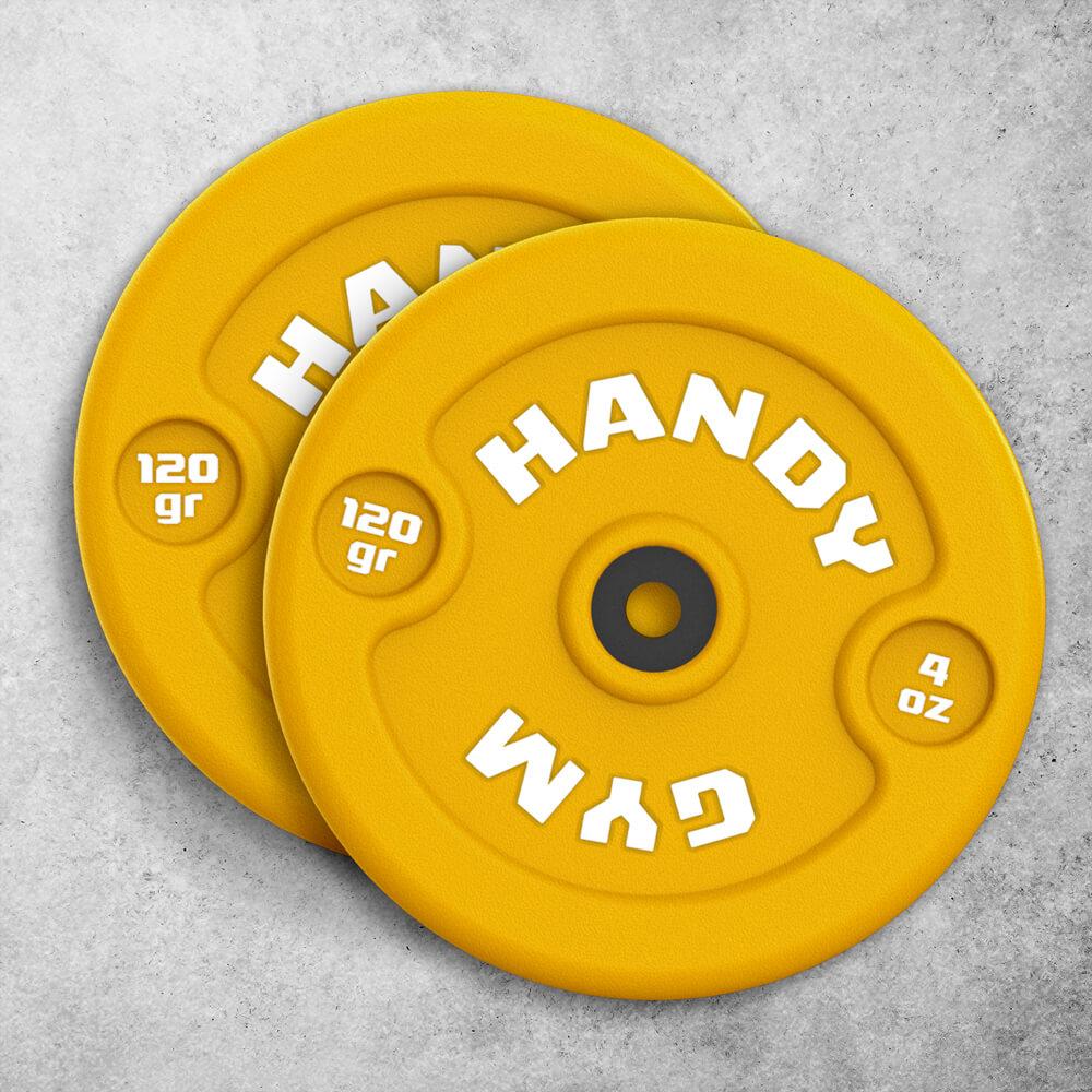 handy gym yellow dics - Yellow Inertial Discs