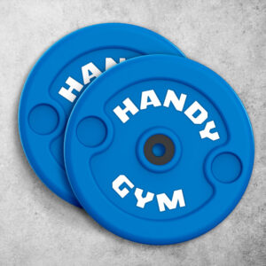 handy gym blue disc 300x300 - Blue Inertial Discs