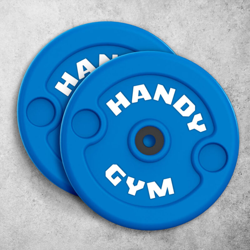 handy gym blue disc 800x800 - Blue Inertial Discs