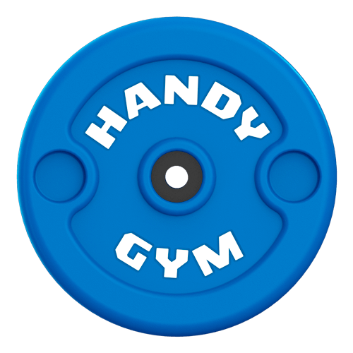 handy gym blue disc - Handy Gym Technology