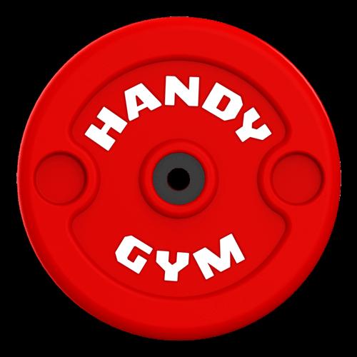 handy gym red disc - Handy Gym Technology