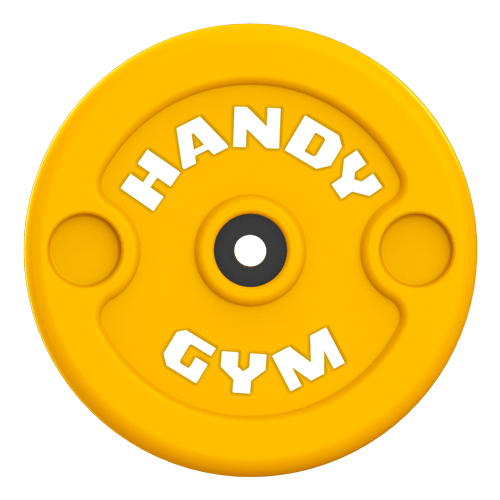 handy gym yellow disc 1 - Tecnología Handy Gym