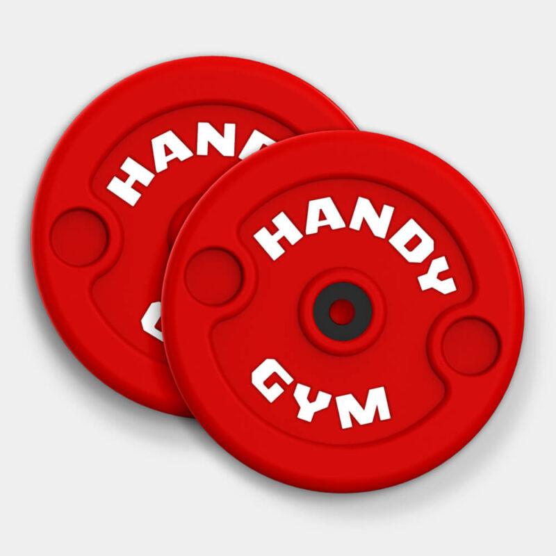 HG red discs 21 800x800 - Discos Inerciales Rojos